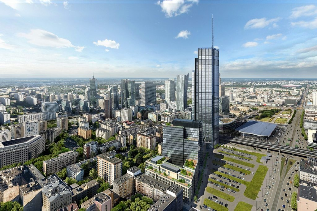 Varso - najwyższy budynek w Polsce