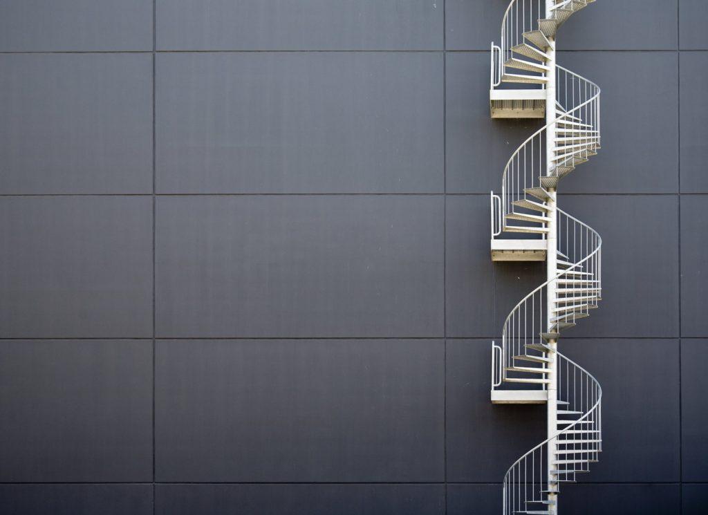 schody które zajmują mało miejsca