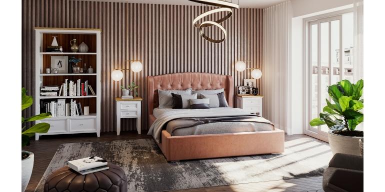 Wysokiej jakości komody drewniane i łóżka tapicerowane